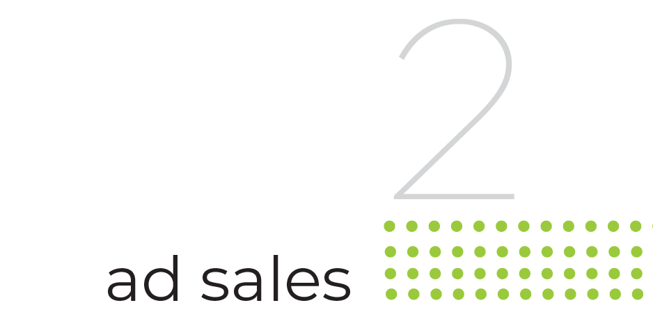 step 2 ad sales